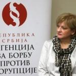 Zorana Marković, Direktorka Agencije za borbu protv korupcije